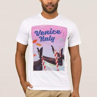 Venice Italy Gondola vacation print. T-Shirt
