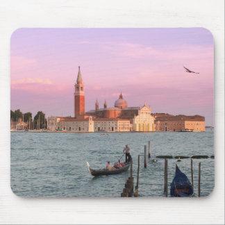 Venice Italy Gondolas Mousepad