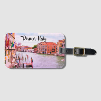 Venice, Italy Grand Canal Luggage Tag