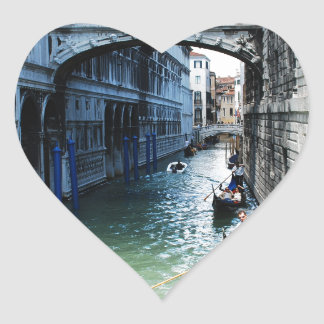 venice, italy heart sticker