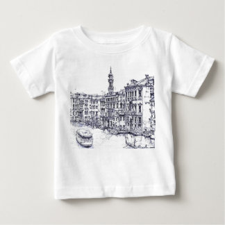 Venice, Italy, in ink Baby T-Shirt