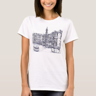 Venice, Italy, in ink T-Shirt