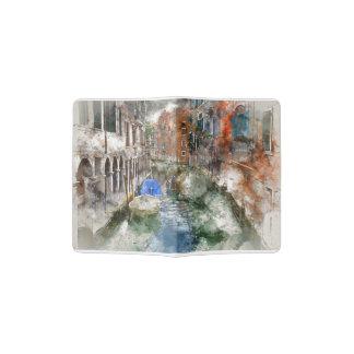 Venice Italy Passport Holder