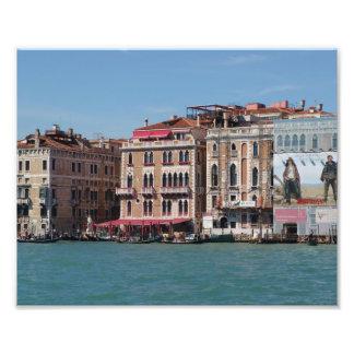 Venice Italy photography, Grand Canal, Gondolas Photo Print