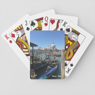 Venice, Italy playing cards