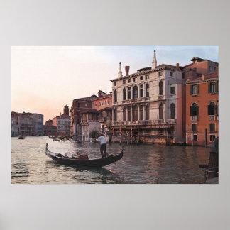 Venice Italy Poster / Gondola