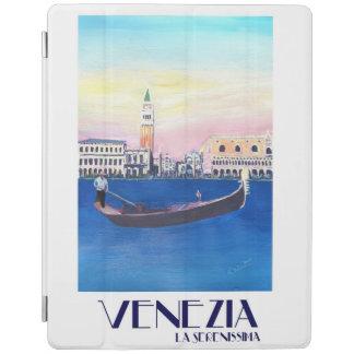 Venice Italy Retro Vintage Poster iPad Cover
