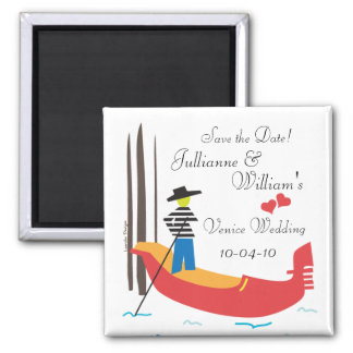 Venice Italy Save the Date Magnet