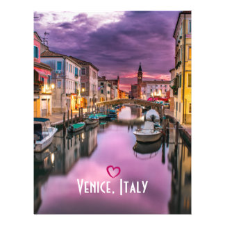 Venice, Italy Scenic Canal & Venetian Architecture Flyer