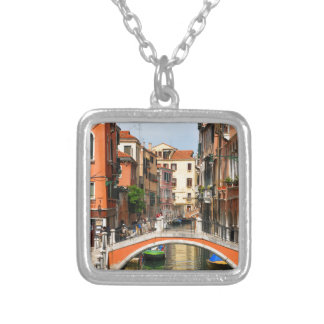 Venice, Italy Silver Plated Necklace