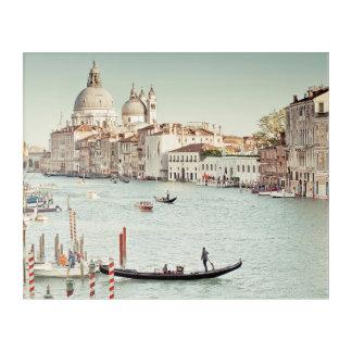 Venice, Italy | The Grand Canal Acrylic Print