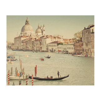 Venice, Italy | The Grand Canal Wood Wall Decor