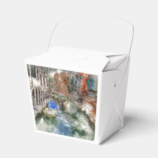 Venice Italy Wedding Favor Box