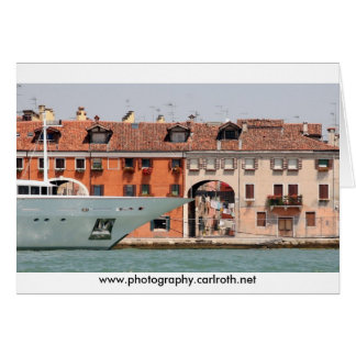 Venice - Luxury  & Laundry Card