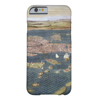 VENICE: MAP, 16TH CENTURY BARELY THERE iPhone 6 CASE