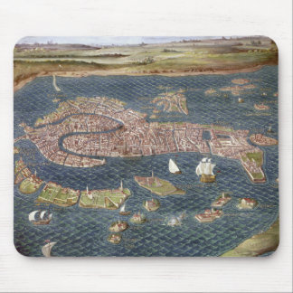 VENICE: MAP, 16TH CENTURY MOUSE PAD