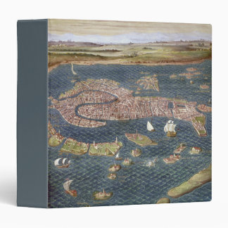 VENICE: MAP, 16TH CENTURY VINYL BINDERS