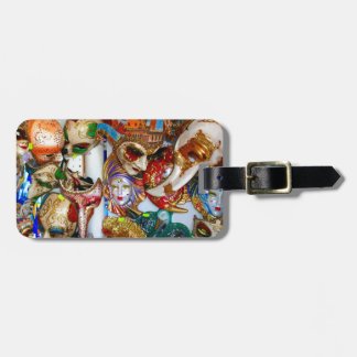 Venice Masks Luggage Tag
