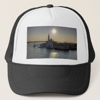 Venice morning trucker hat