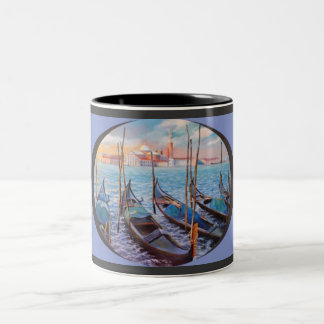 Venice mug. Two-Tone coffee mug