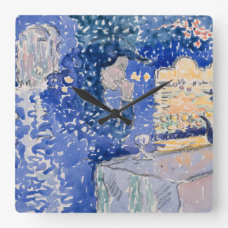 Venice Night of the Festival of the Redeemer Square Wall Clock