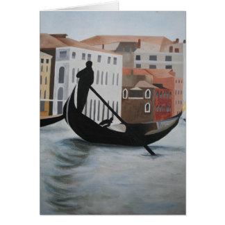 Venice Note Card