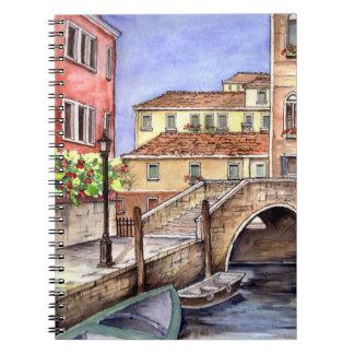 Venice - Pen & Wash Watercolor Notebook