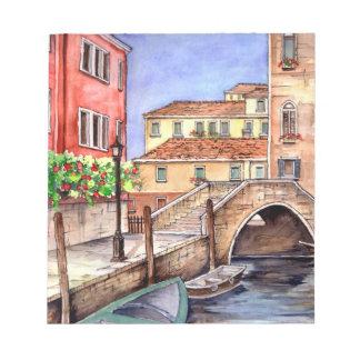 Venice - Pen & Wash Watercolor Notepad