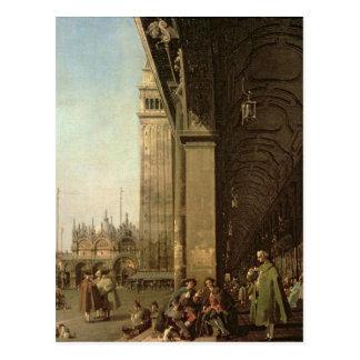 Venice: Piazza di San Marco and the Colonnade Postcard