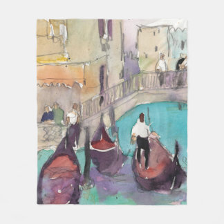 Venice Plein Air Fleece Blanket