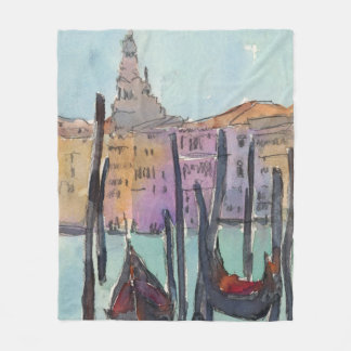 Venice Plein Air IV Fleece Blanket