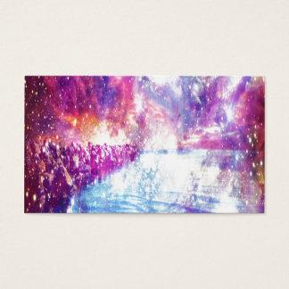 Venice Rainbow Universe Business Card