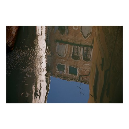 Venice Reflections I Posters