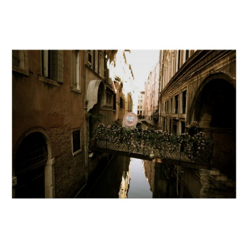 Venice Reflections II Posters