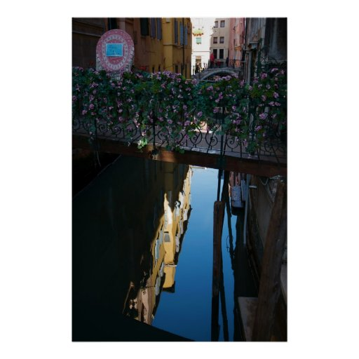 Venice Reflections Poster