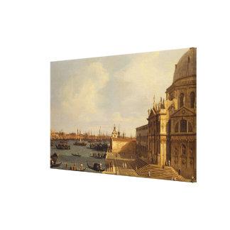 Venice: Santa Maria della Salute Canvas Print