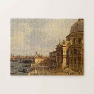 Venice: Santa Maria della Salute Jigsaw Puzzle