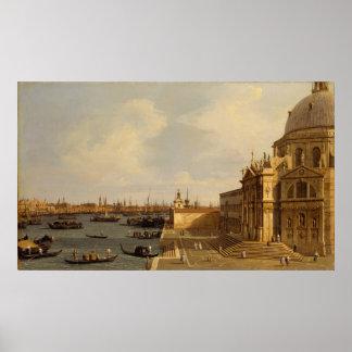 Venice: Santa Maria della Salute Poster