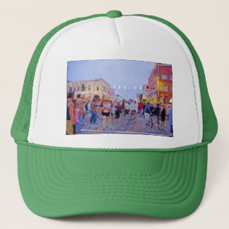 """Venice Sign Lighting"" Truckers Hat"