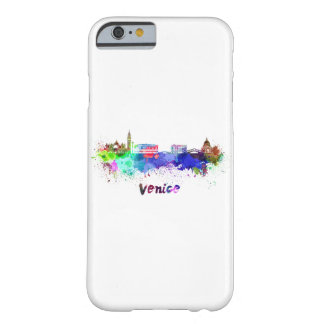 Venice skyline in watercolor barely there iPhone 6 case