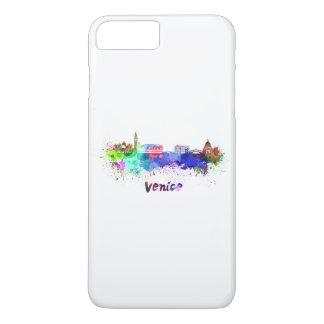 Venice skyline in watercolor iPhone 8 plus/7 plus case