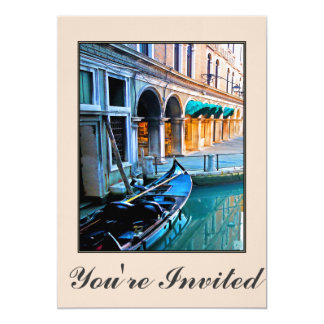 Venice Special Alley with Love Quote Card