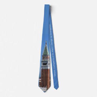 Venice - St. Mark Campanile | Design by Strangetis Tie