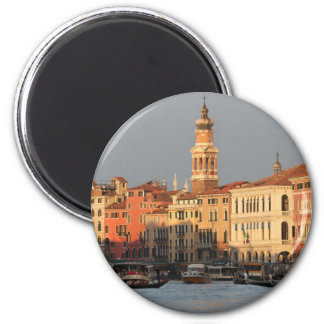 Venice Sunset at the Rialtro Bridge Magnet