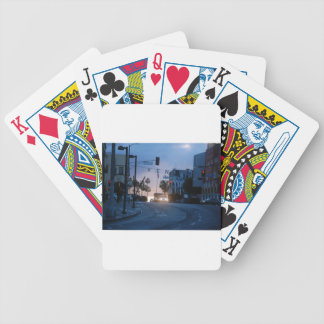 venice sunset bicycle playing cards