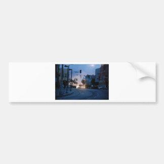 venice sunset bumper sticker