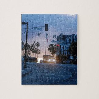 venice sunset jigsaw puzzle