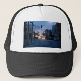 venice sunset trucker hat