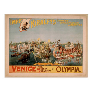 Venice, The Bride of the Sea, 'Olympia' Vintage Th Postcard