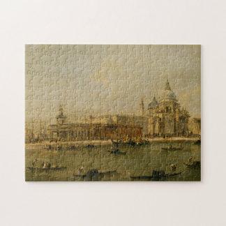 Venice The Dogana and Santa Maria della Salute Jigsaw Puzzle